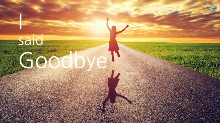 I Said Goodbye