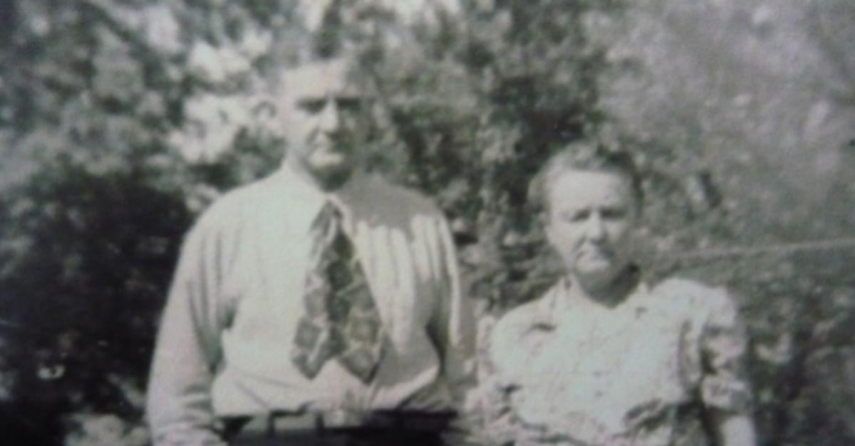 Grandma and Grandpa Hansen