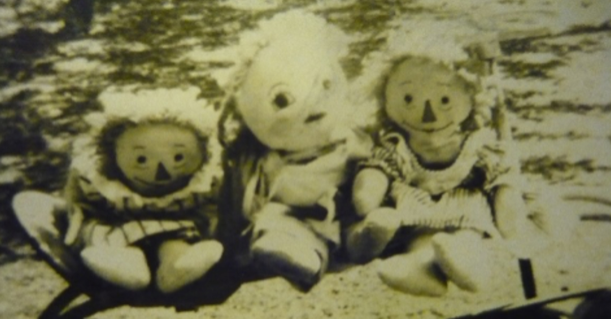 Lorraine - The Early Years - 1942 - 1950 - Rag Dolls