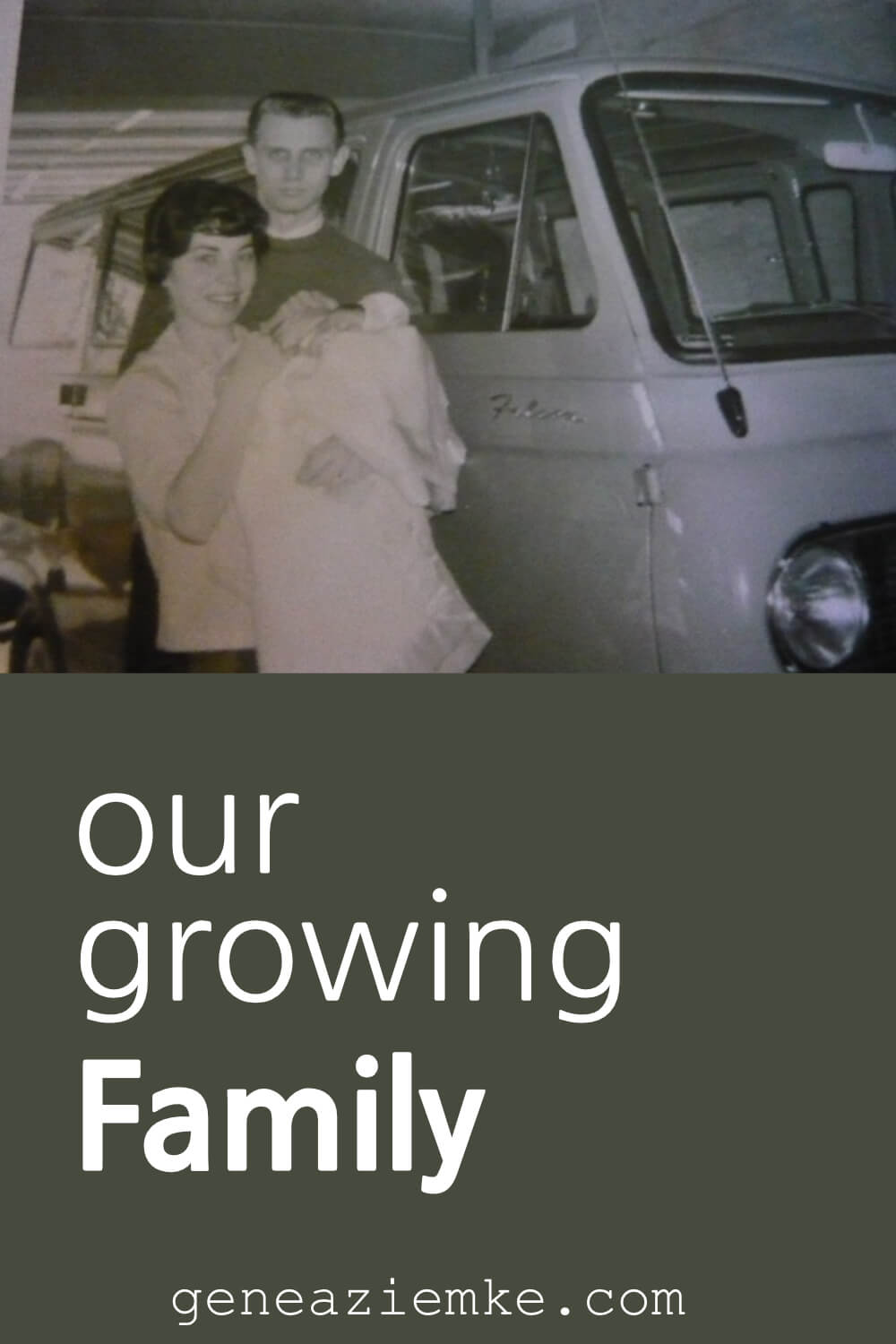 The Ziemke Story - Our Growing Family - 1965