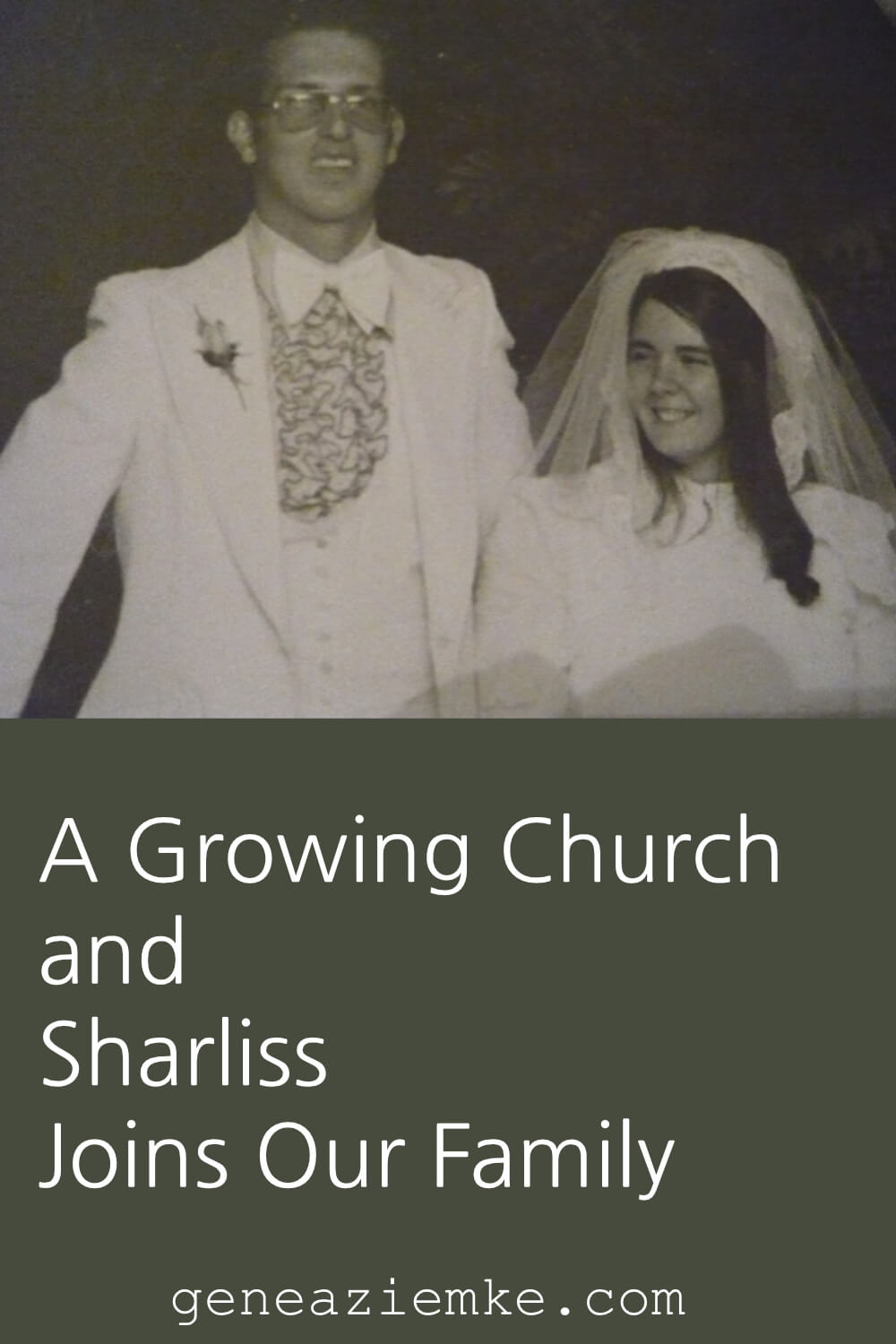 A Growing Church and Sharliss Joins Our Family