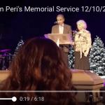 Debi Doman Peri's Memorial Service 12/10/2017