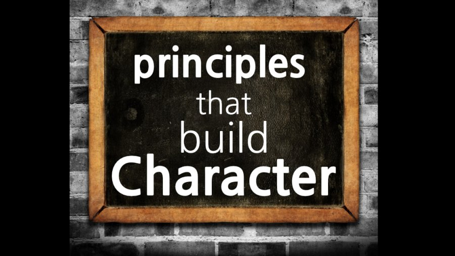 Principles That Build Character